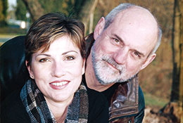 Photo of Alan Lizotte and his wife, Lisa Jackson