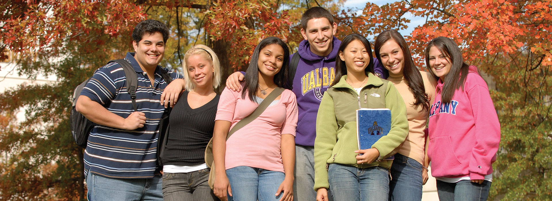 Photo of SUNY Albany students